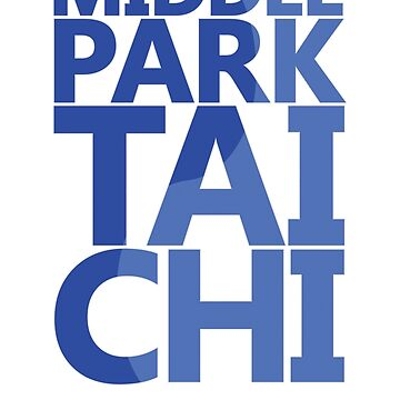 Middle Park Tai Chi - Blue by ChrisSerong