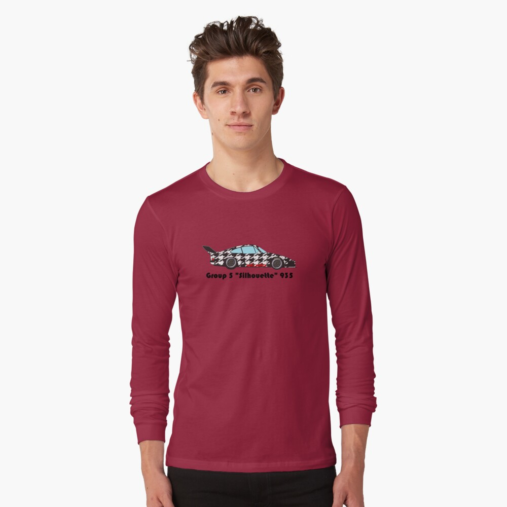 Shift Shirts Silhouette – Longtail Inspired  Long Sleeve T-Shirt Front