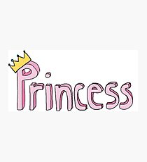 Princess Photographic Print