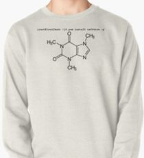 root yum install caffeine -y - Caffeine molecule with Linux love. Pullover