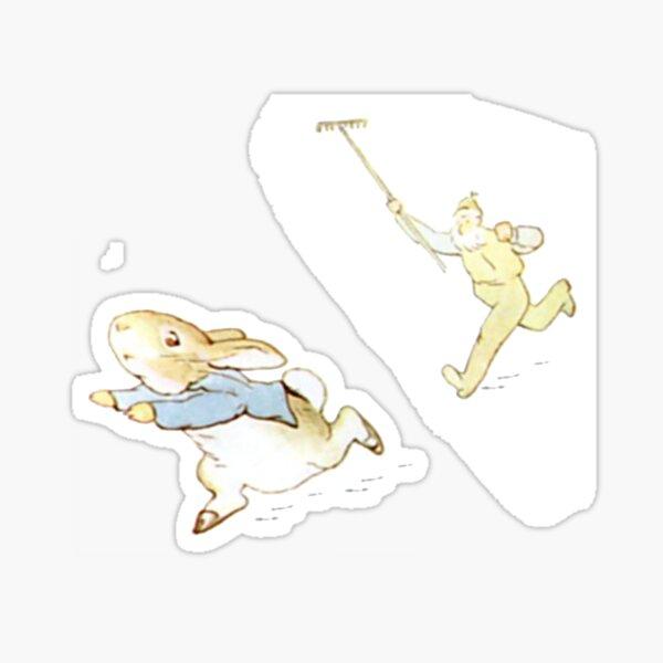 Peter Rabbit Adventure: Chased by Mr. McGregor Sticker