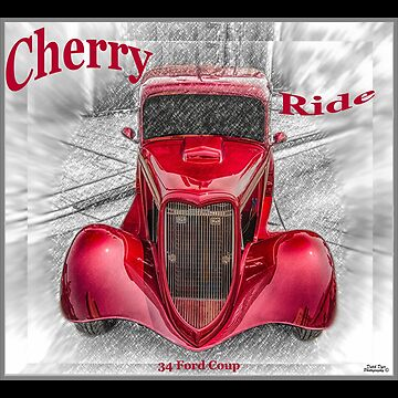 Cherry Ride - 34 Ford Coup by MajorDeez