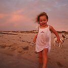A Sunset Dip by Rachael Clancy