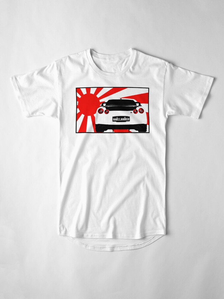 Alternate view of Shift Shirts R35SPECT – R35 Inspired Long T-Shirt