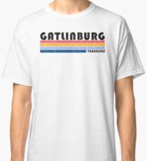Camiseta clásica Gatlinburg, Tennessee camiseta retro años ochenta