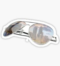 Chitown Sunglasses Sticker