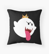 King Boo! Simplistic Design Throw Pillow