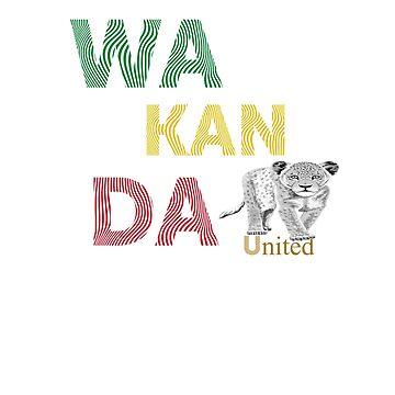 Wakanda united by Zuri2018