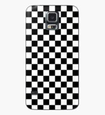 Black and white checkered phone case Case/Skin for Samsung Galaxy