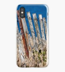 Fence to Nowhere iPhone Case
