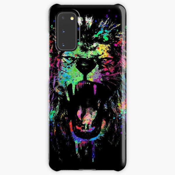Messy color lion Samsung Galaxy Snap Case