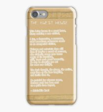 The Guest House Poem by Rumi iPhone Case/Skin