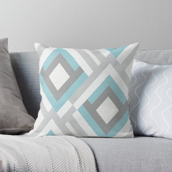 Geometric pattern.9 Throw Pillow