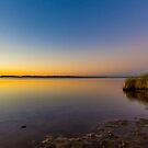 Sunset over Leschenault Inlet by Peter Rattigan