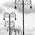 Black Poles by carol brandt