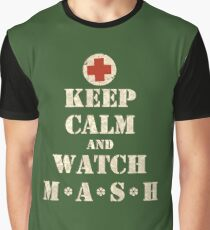 Keep Calm and Watch M*A*S*H ( MASH ) Graphic T-Shirt