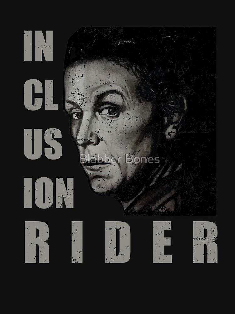 Inclusion Rider #InclusionRider Frances McDormand #FrancesMcDormand Feminism Time's up two words 2 words shirt tshirt by akialk