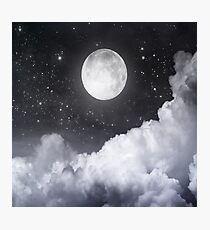 Touch of the moon II Photographic Print