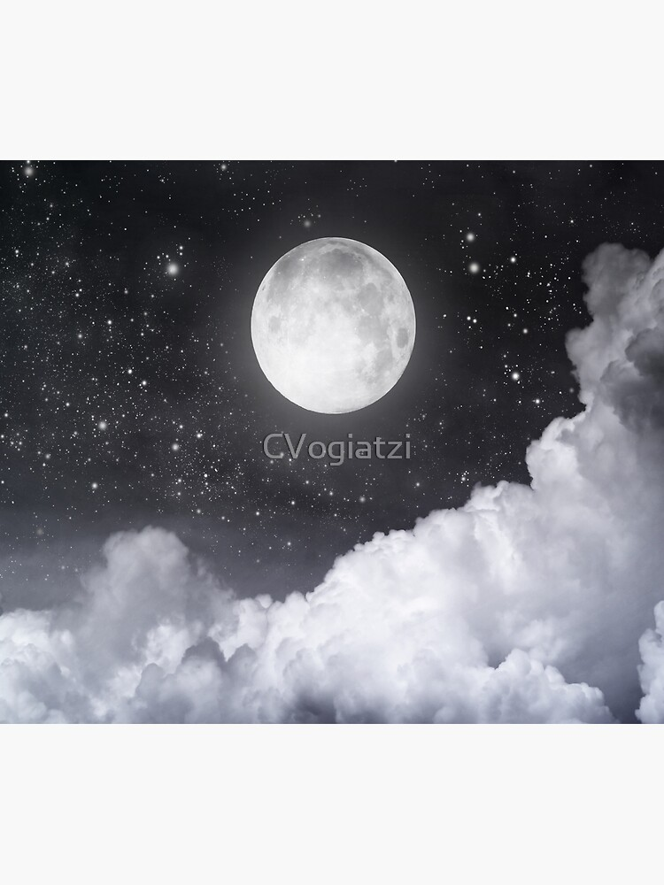 Touch of the moon II by CVogiatzi