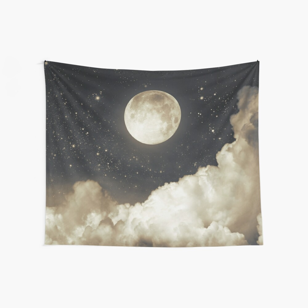 Touch of the moon I Wall Tapestry