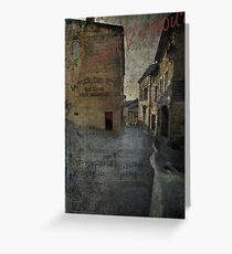 Chanson D'Amour Greeting Card