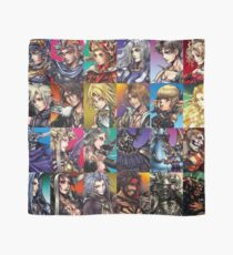 Final Fantasy Characters Scarves | Redbubble