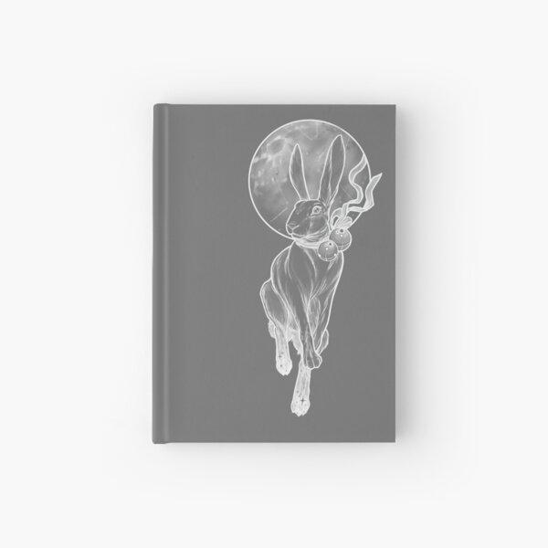 Rabbit moon Hardcover Journal