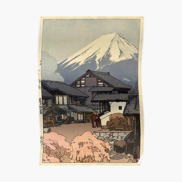 Hiroshi Yoshida - Fujiyama from Funatsu Poster