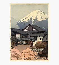 Hiroshi Yoshida - Fujiyama from Funatsu Photographic Print