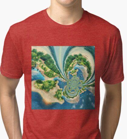 Extraterrestrial planet Tri-blend T-Shirt