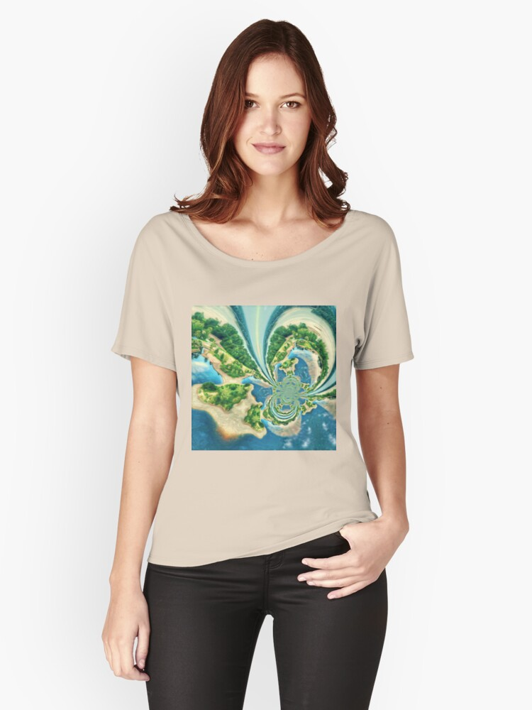 Extraterrestrial planet Women's Relaxed Fit T-Shirt Front
