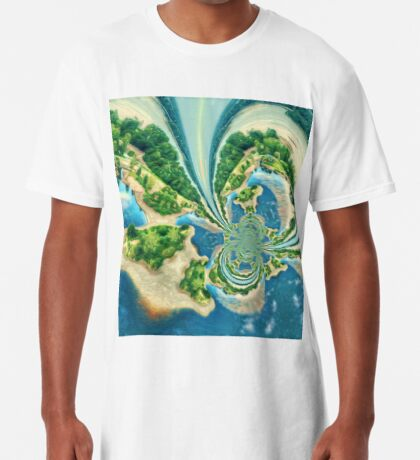 Extraterrestrial planet Long T-Shirt