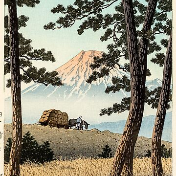 Kawase Hasui - Evening at Tagonoura by CoppedFlack