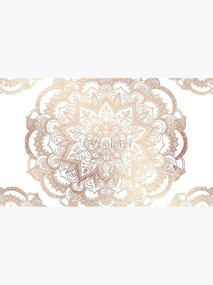 Mandala Gold Shine I by CVogiatzi