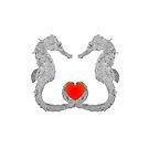 Verliebte Seepferdchen von Doris Thomas