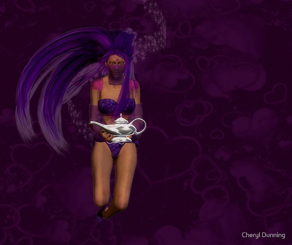 the genie by Cheryl Dunning