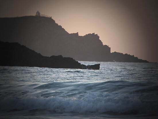 Cornish dusk by Jessox