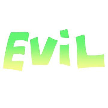 EVIL by jashinhunter