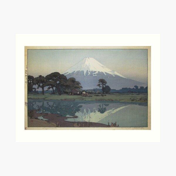 Hiroshi Yoshida - Suzukawa Art Print
