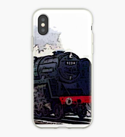 Leicester City 92214 steam train  iPhone Case