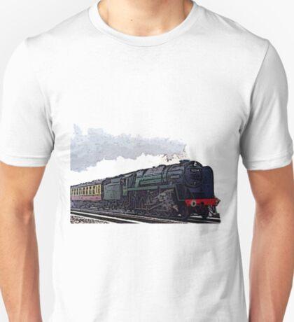 Leicester City 92214 steam train  T-Shirt