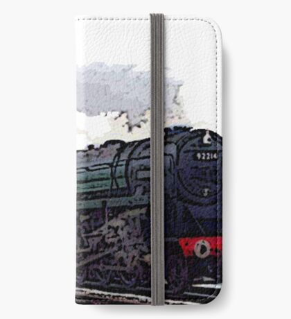 Leicester City 92214 steam train  iPhone Wallet