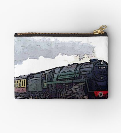 Leicester City 92214 steam train  Studio Pouch