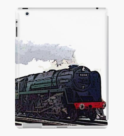 Leicester City 92214 steam train  iPad Case/Skin