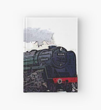 Leicester City 92214 steam train  Hardcover Journal