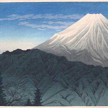Takahashi Shotei - Mt. Fuji from Hakone by CoppedFlack