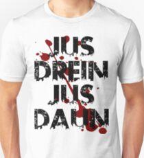 jus drein jus daun Unisex T-Shirt