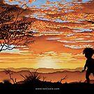 Australian Sunsets Indigenous by iancoate