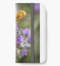 Insect studying flower iPhone Wallet/Case/Skin