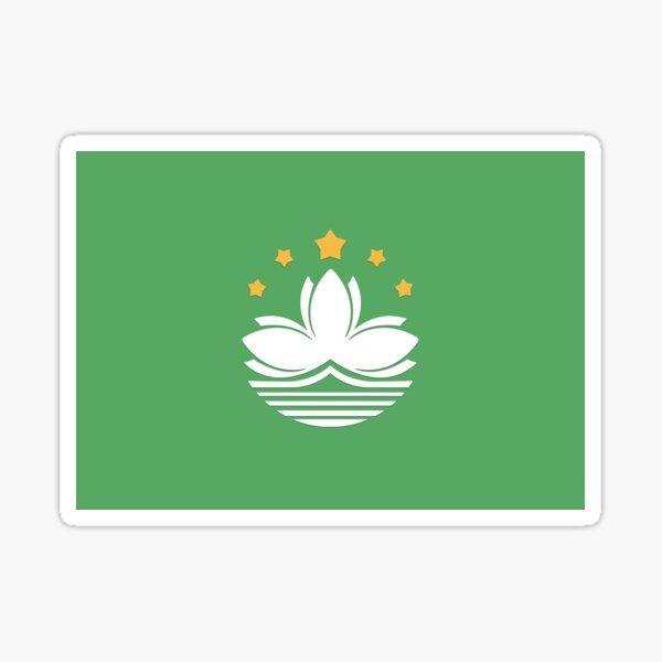 Macau Sticker